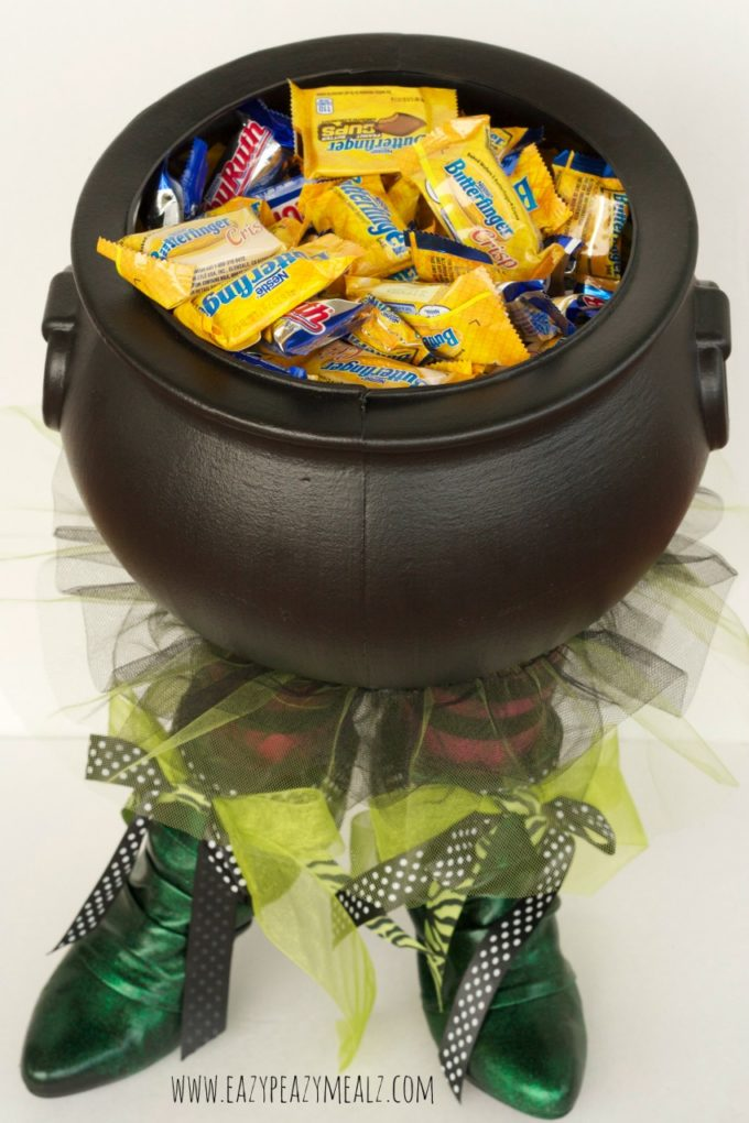 candy bowl, with butterfinger