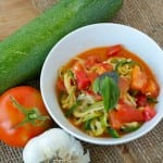 garden harvest zoodle-soup