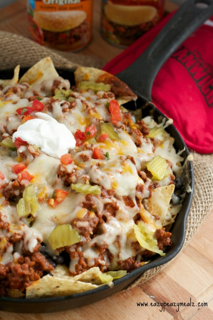 Manwich sloppy joe nachos: Mmm Delicious