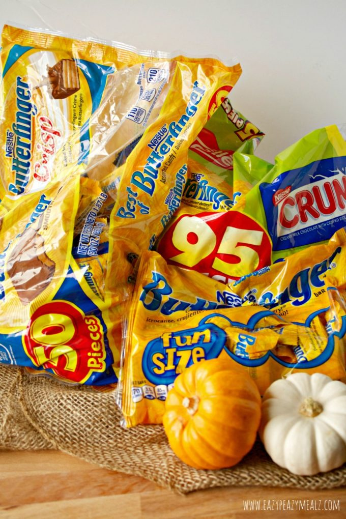 the candy nestle butterfingers
