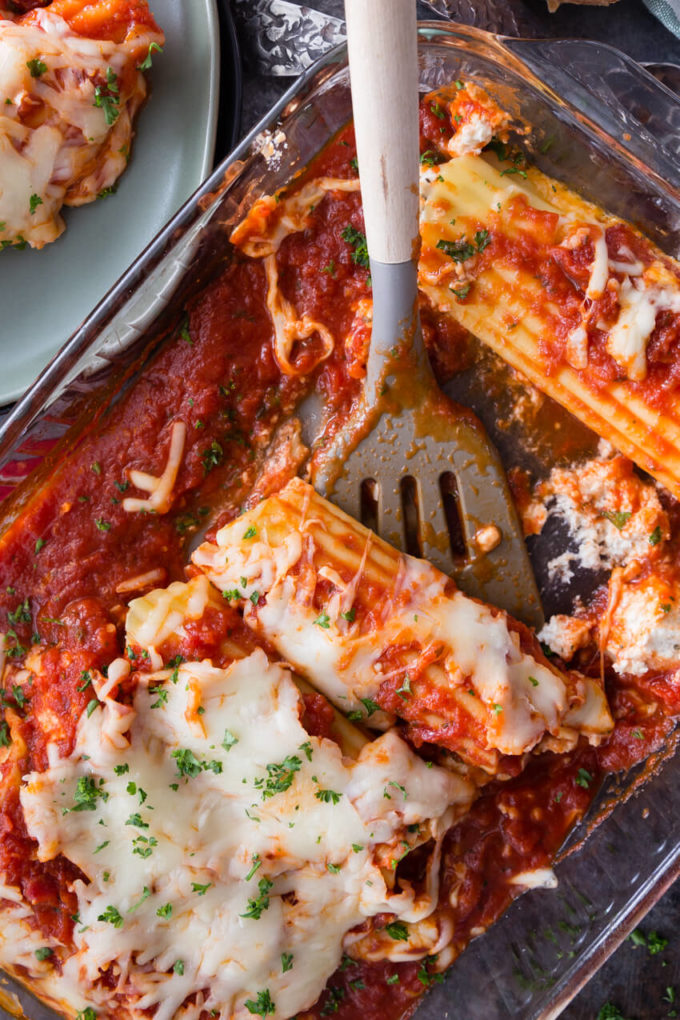 chicken and cheese manicotti easy peasy meals