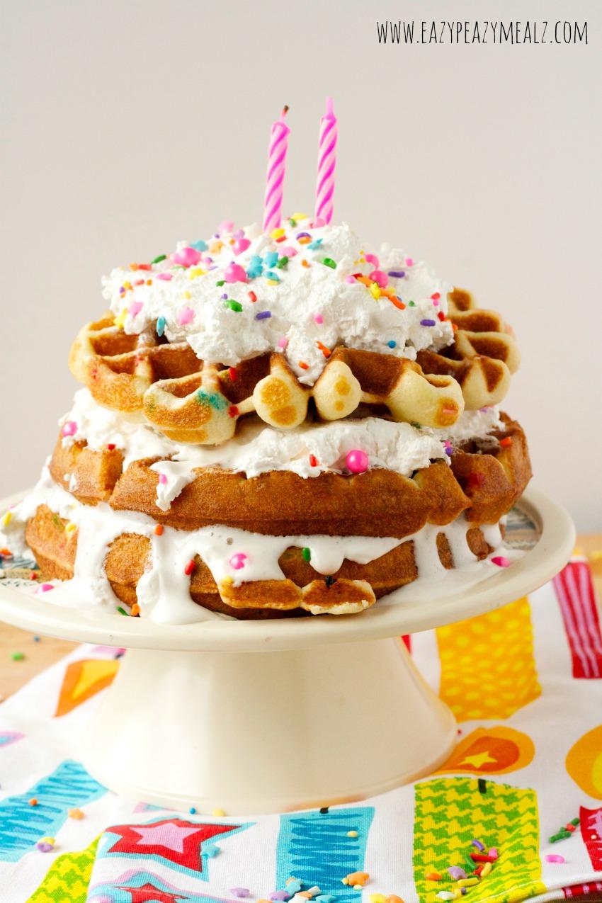 Make Waffle Cake