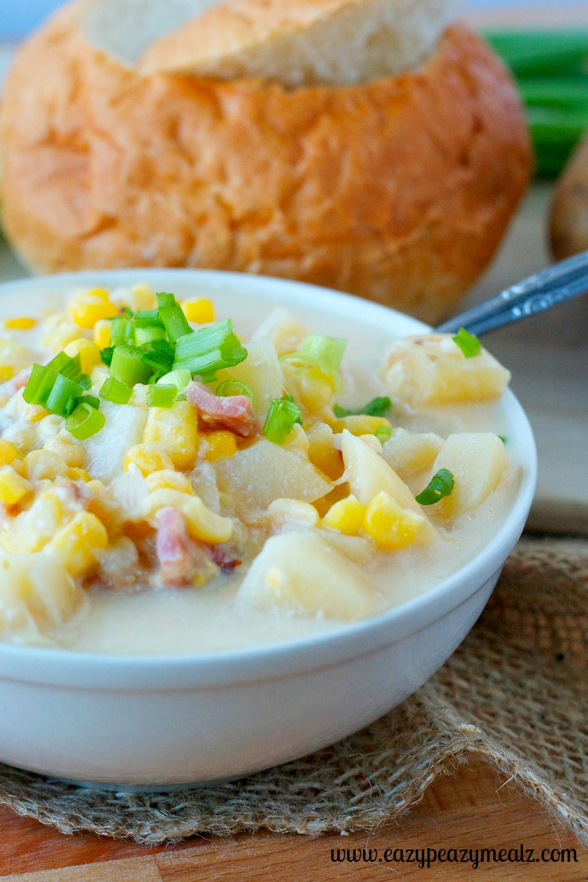 chowder corn soup