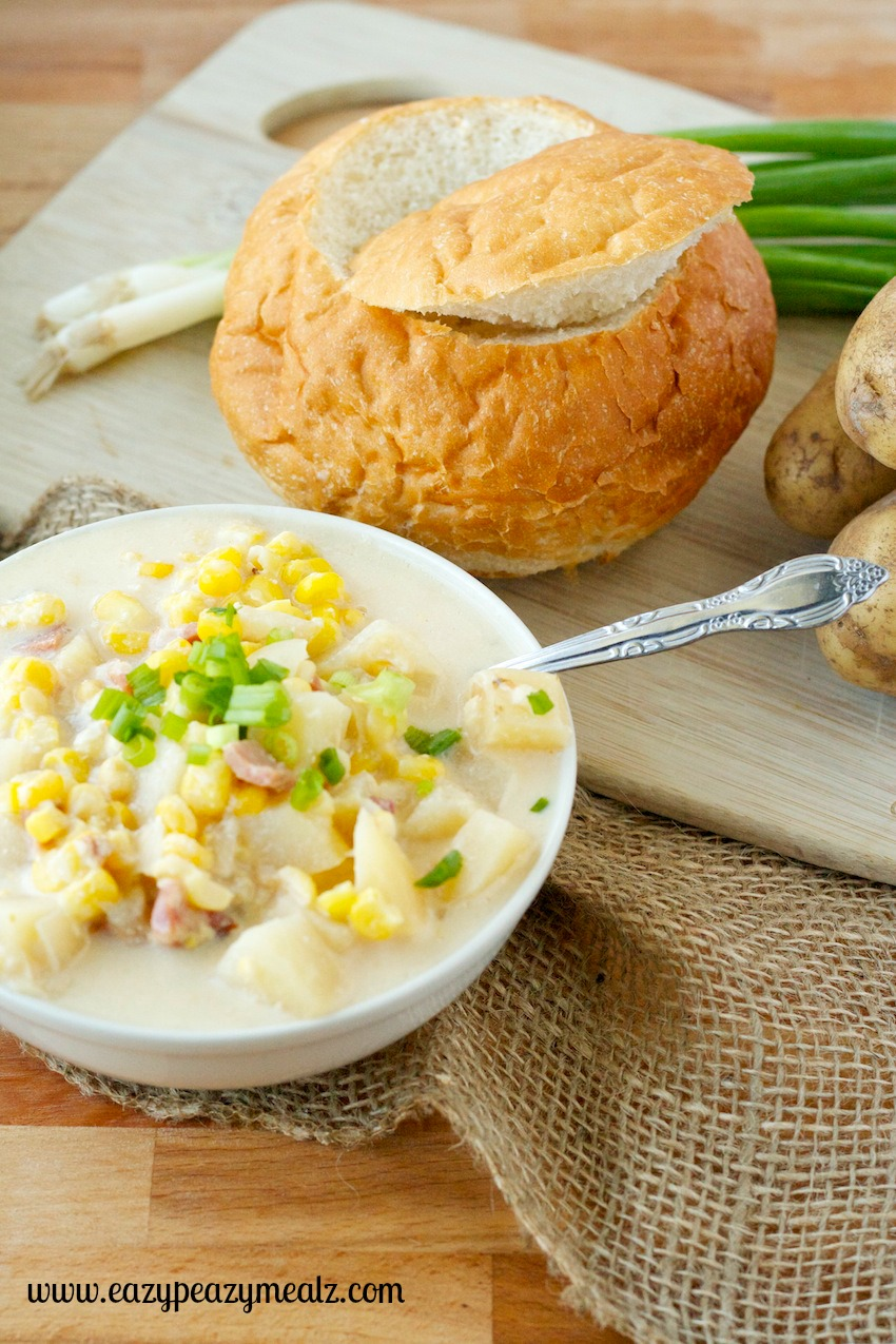 Slow Cooker Corn Chowder