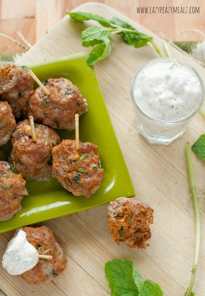 meatballs with lamb