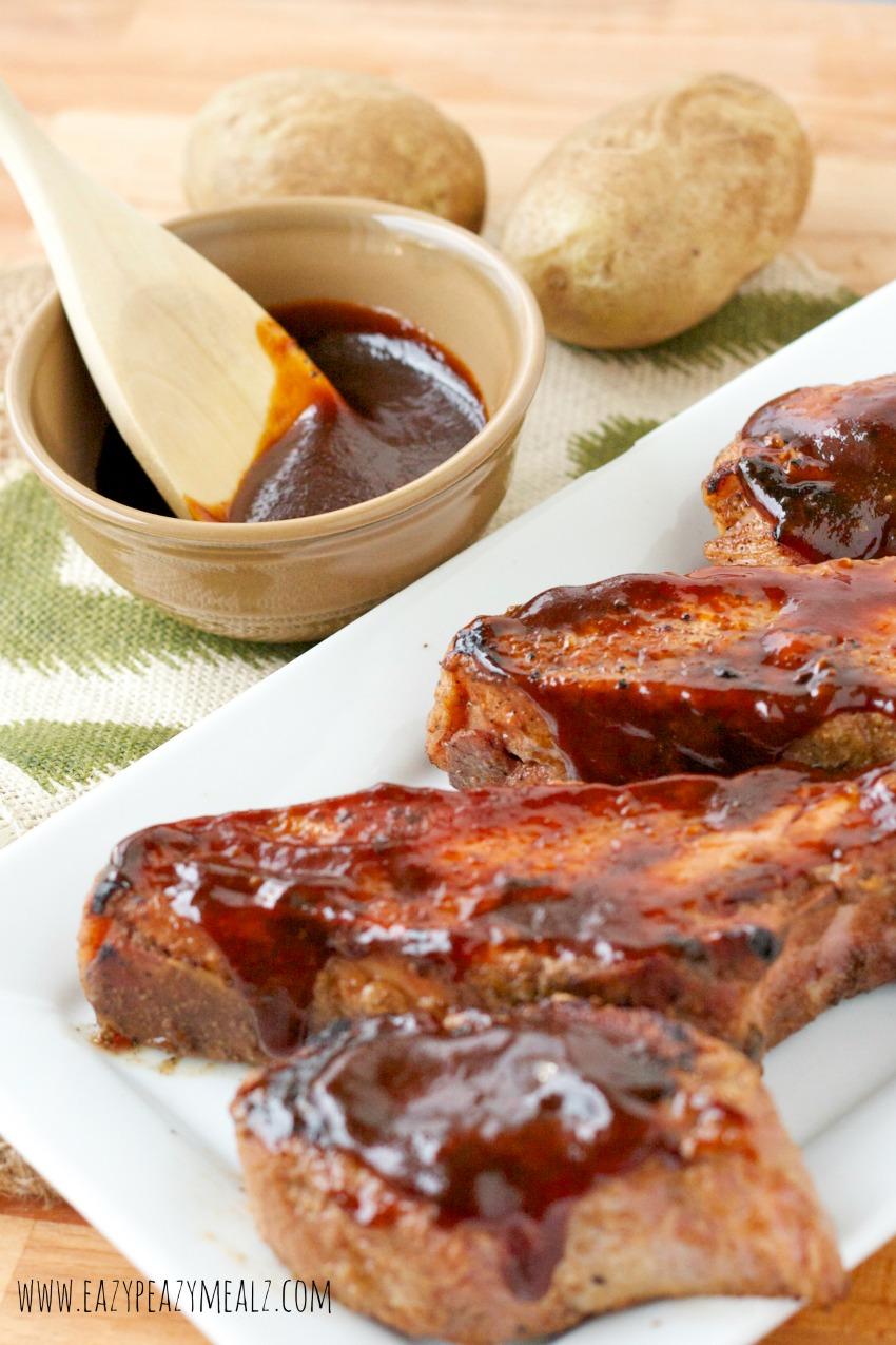 hoison bbq pork ribs sous vide easy peasy meals. Black Bedroom Furniture Sets. Home Design Ideas