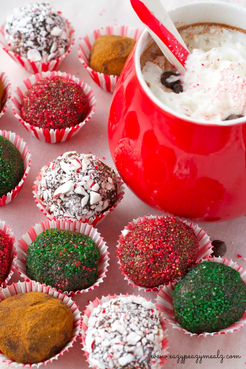 24 Candy Ideas: Tabasco Hot Chocolate Truffles