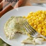 creamy mint tilapia #sousvide #mint sauce