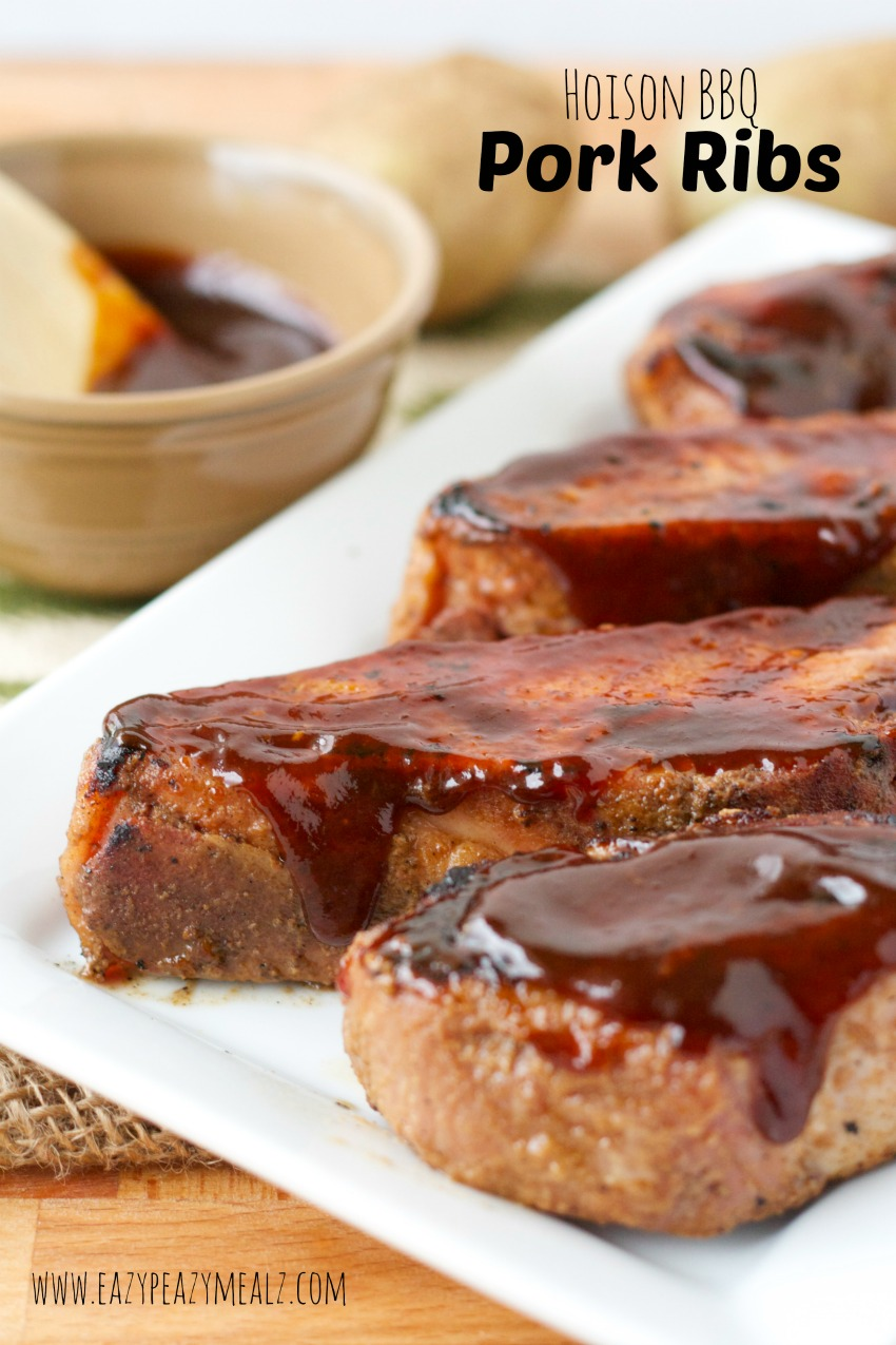 hoison BBQ pork ribs