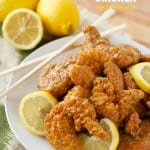 super easy lemon chicken #asian #lemonchicken