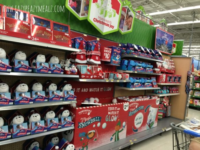 North Pole Aisle Walmart