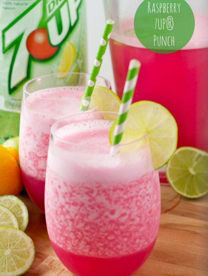 Canada Dry Ginger Ale® and 7UP® Punch Recipes