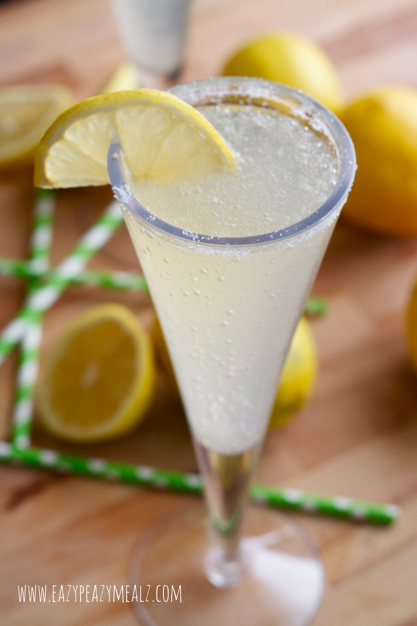 gingerale lemonade #lemonade, #holiday