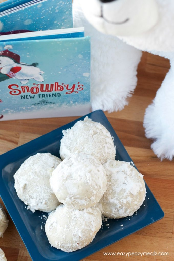 snowby snow ball cookies #Northpole