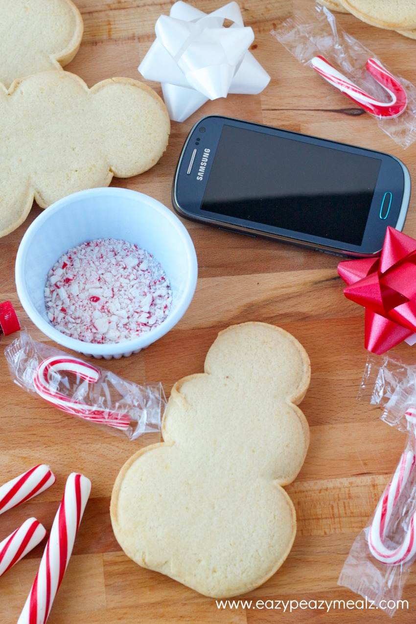 snowman cookies and samsung