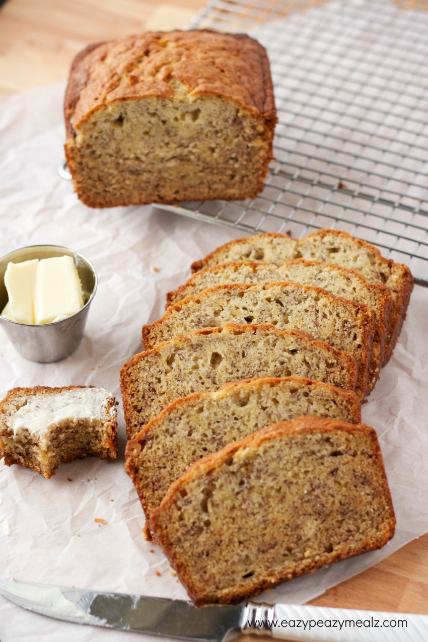 super easy banana bread recipe no mixer needed