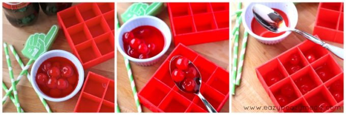 Making flavored ice cubes #preparetoparty