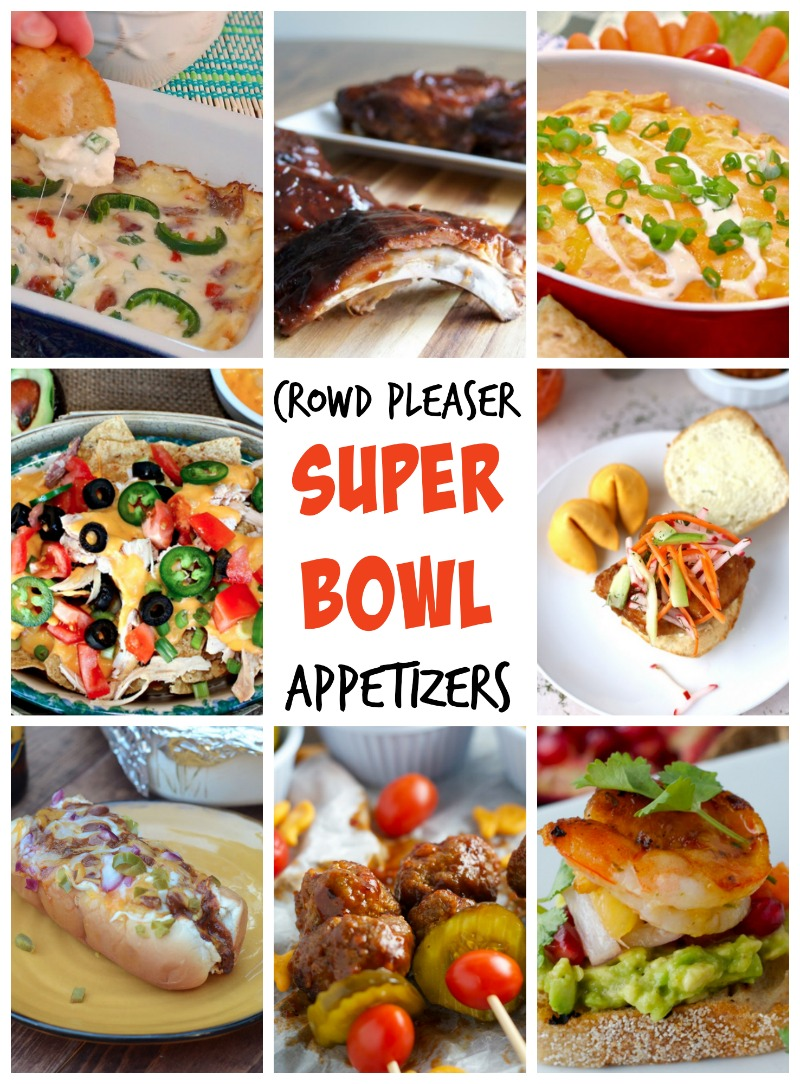 crowd pleasing super bowl appetizers