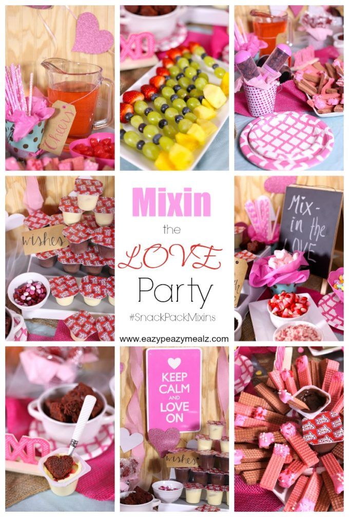 mixin the love party collage #snackpackmixins
