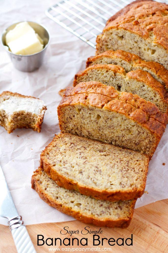 Super Simple Banana Bread Easy Peasy Meals