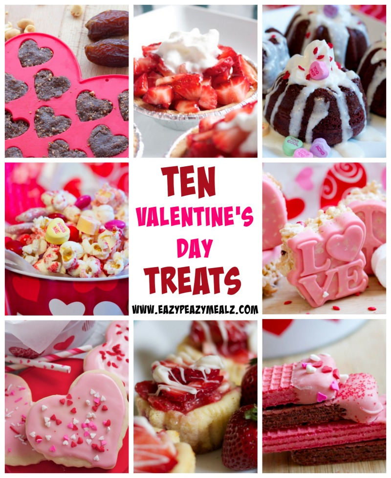 10 Decadent Valentine\'s Day Treats - Eazy Peazy Mealz