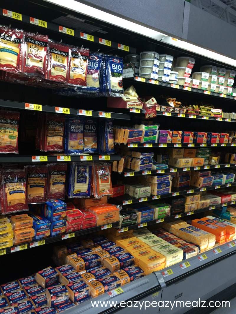 cheese aisle, cheese for the ABC grilled cheese