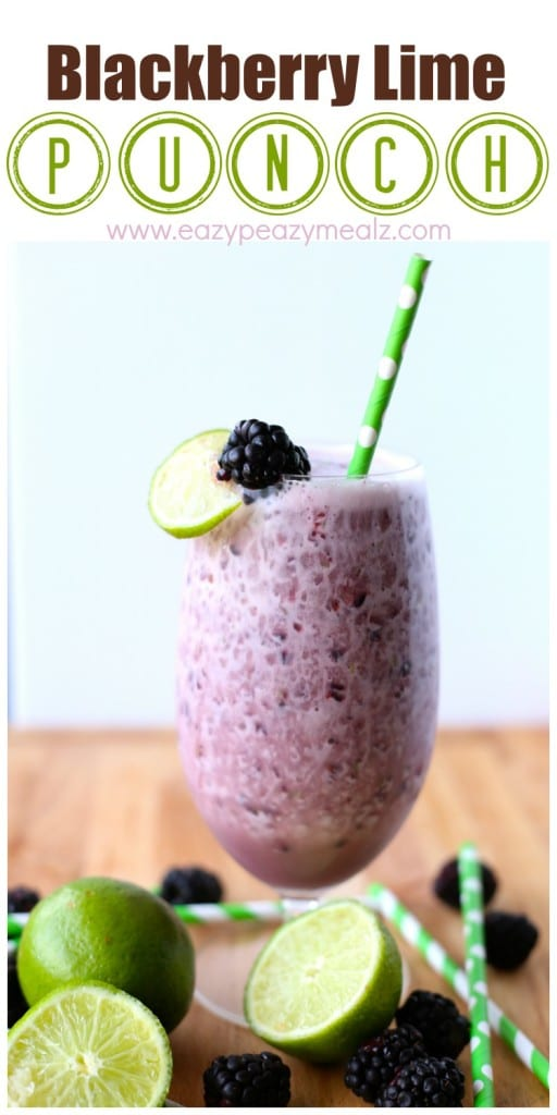 Blackberry Limeade Recipe — Dishmaps