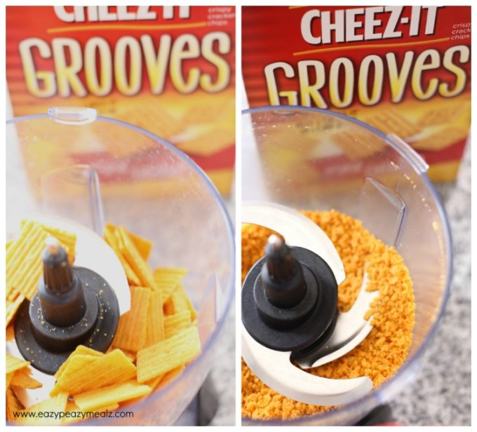 cheeze grooves, cheesy chicken bites