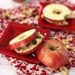 chocolate chip cookie apple sammy snack