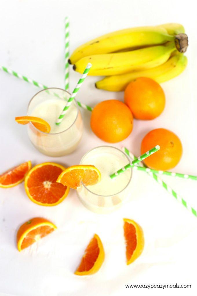 wild orange colada smoothie