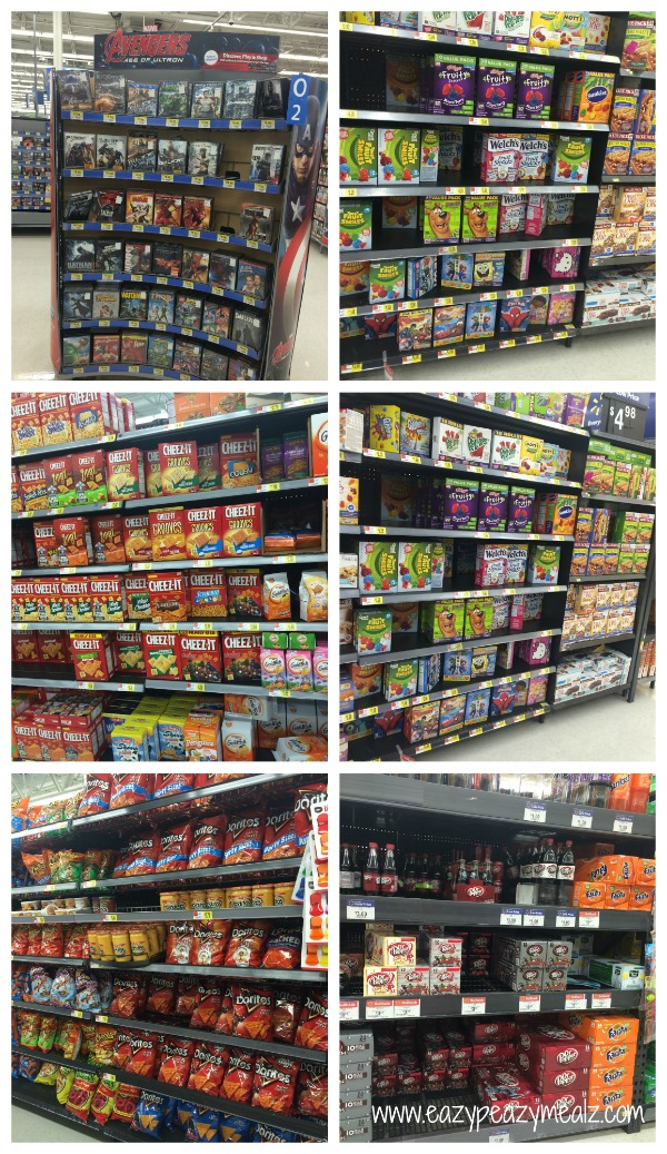 Avengers Aisle Walmart