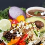 Chili Lime Salsa Burrito Bowl Pic