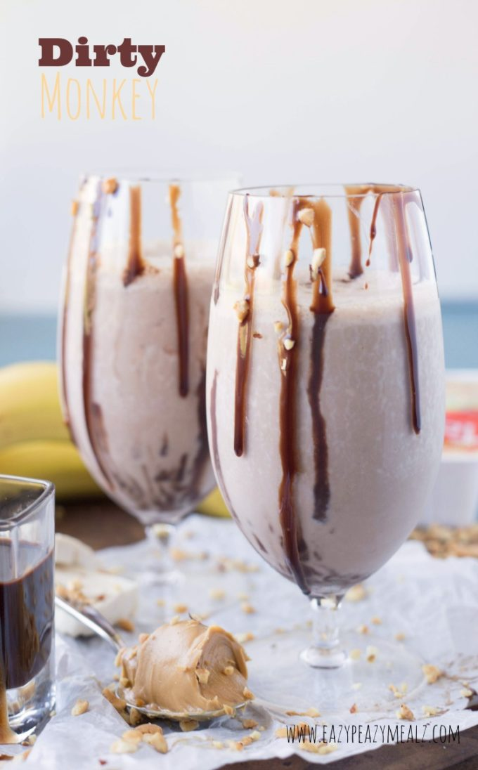 Dirty monkey tofu milkshake