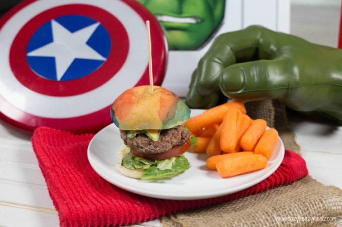 Super Hero Sliders