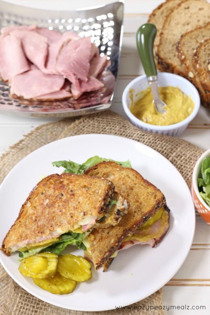 ham and cheese arla dofino
