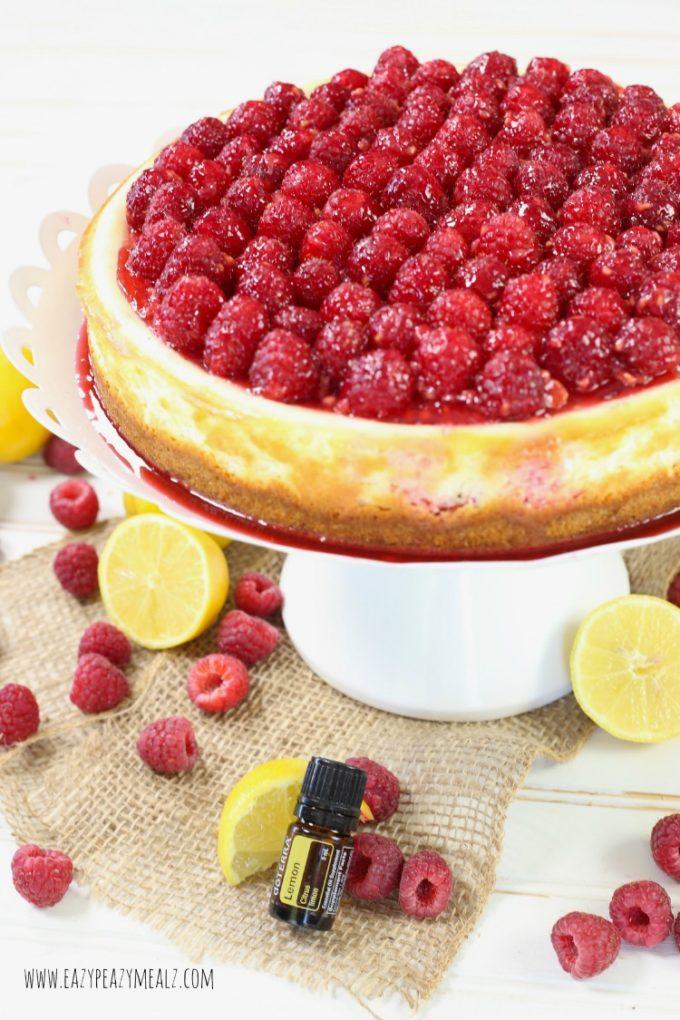 lemon oil cheesecake