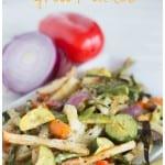 Garlic Rosemary Veggie grill pack