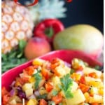 Grilled Fruit Salsa