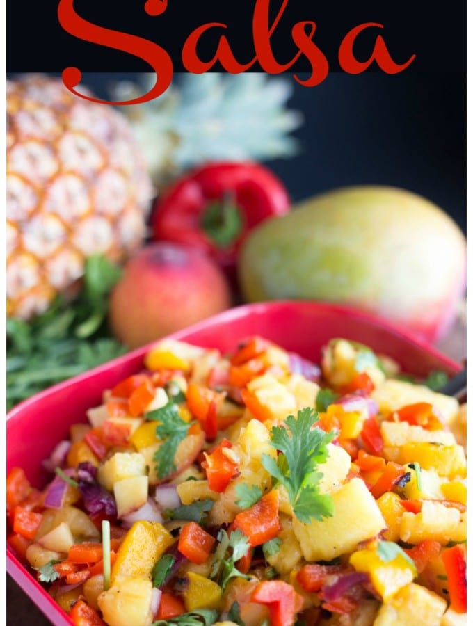 Grilled Tropical Fruit Salsa