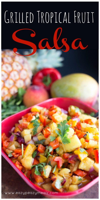 Grilled Fruit Salsa