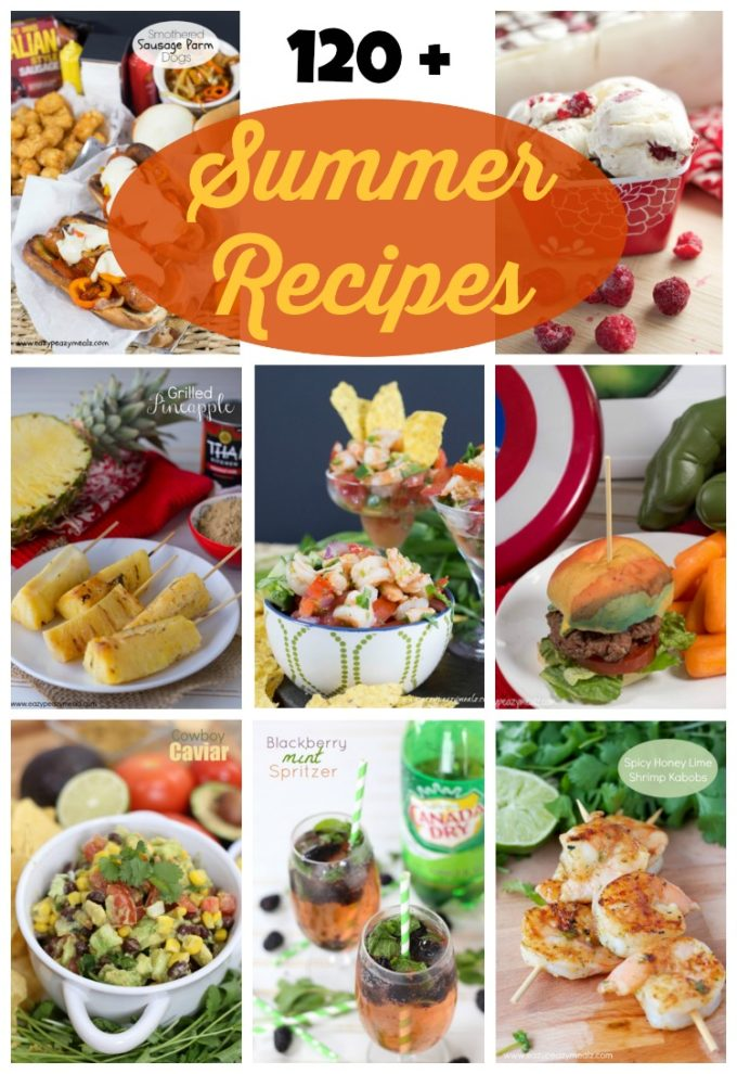 120 summer bbq recipes easy peasy meals summer recipes bbq easy grilling food summer forumfinder Image collections