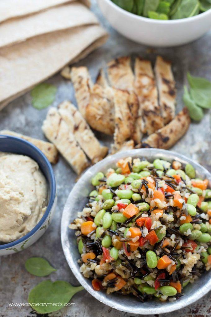 Chicken-Pita-ingredients