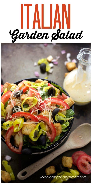 Italian Garden Salad HERO