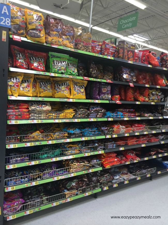 M&M aisle photo