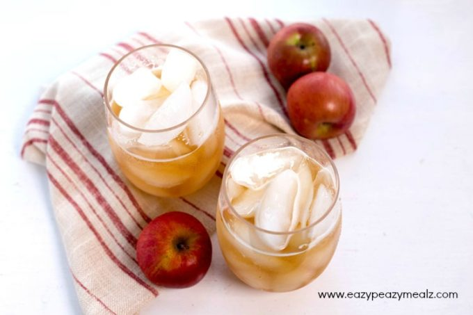 Apple soda is great tasting and easy to make