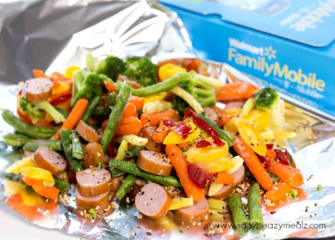 Campfire Dinners- An easy way to cook in a campfire