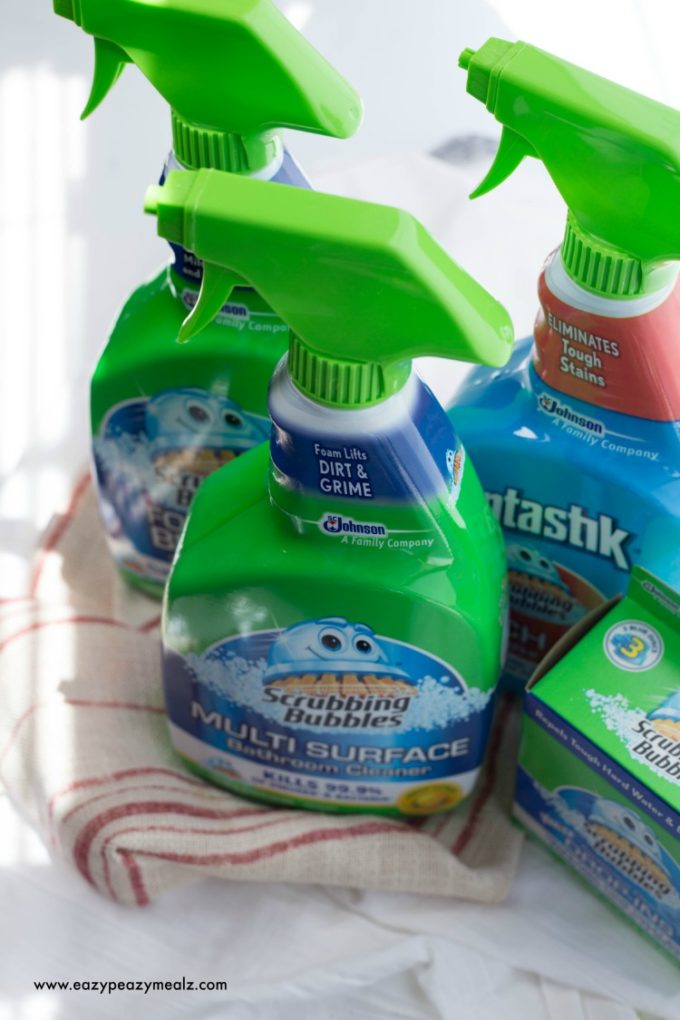 Scrubbing bubbles bathroom cleaner