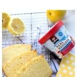 Lemon quick bread hero