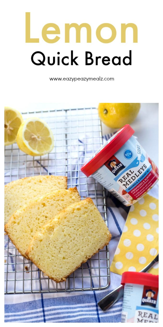 Fresh lemon flavors in a no-rise quick bread that perfectly ...