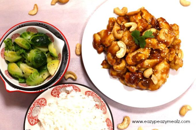 An easy to make cashew chicken that is sure to be a family favorite.